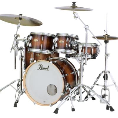 Pearl Session Studio Select Series 5pc Shell Pack w/20 Bass - Gloss Barnwood Brown