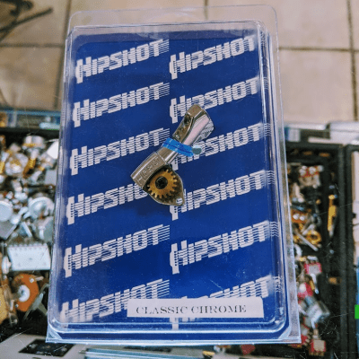 Hipshot 6GN0C Classic Chrome Bass Side Tuner