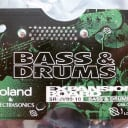 Mint! Roland srjv80 srjv-80 sr-jv-80 SR-JV80-10 Bass and DRUMS Expansion Sound Board ROM Drum & Bass