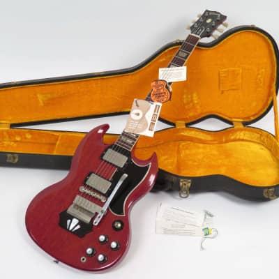 Gibson Les Paul (SG) Standard with Ebony Block Vibrola 1962 - 1963