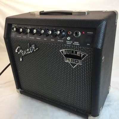 "Fender Bullet 150 2-Channel 15-Watt 1x8"" Guitar Practice Amp 2004 - 2005"