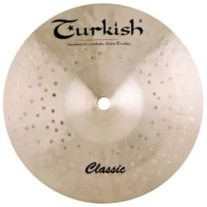 "Turkish Cymbals 8"" Classic Series Classic Splash C-SP8"