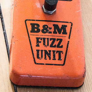 B&M Original Barnes and Mullins FUZZ 70s Mid 70s for sale