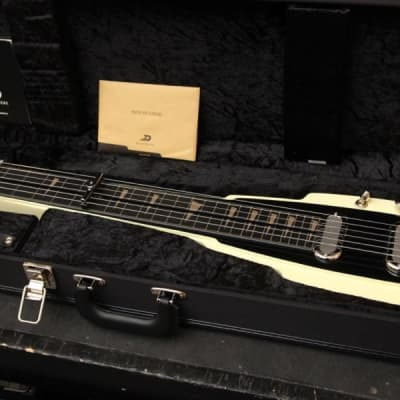 Duesenberg Alamo Lapsteel Ivory w/Case for sale