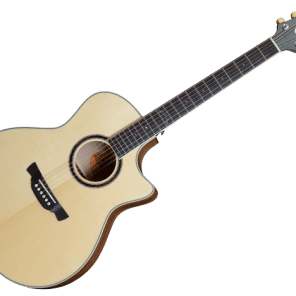 Crafter GAE650TM/N Acoustic Electric Guitar w/Case for sale
