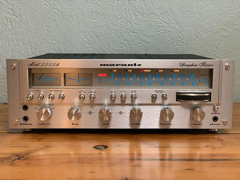 Gorgeous Marantz 2252B True Power Stereo Receiver Hi-Fi | Reverb