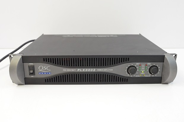QSC PLX-3002 3000 Watt Power Amplifier