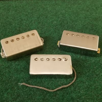 Lot Of 3 1970s Gibson Tarback PAF Humbuckers 7.66K 7.64K 7.45K - Vintage Tones All Day!