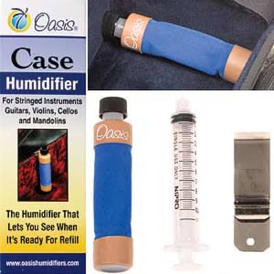 Oasis Oasis String Instrument Case Humidifier for Guitars, Violins, Violas, Cellos, and Mandolins