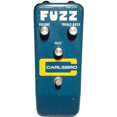 Vintage Carlsbro Fuzz Original 1974 Colorsound MKIII Tone Bender Guitar Pedal for sale