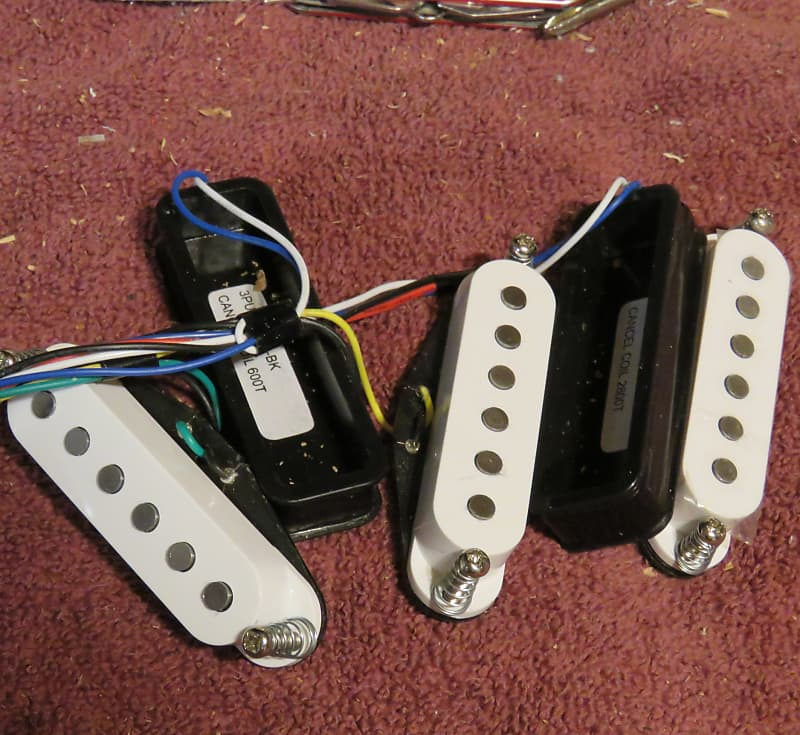 Ibanez Pickups w/ wiring harness and hum-canceling coils ... on