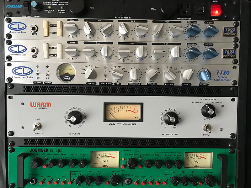 chameleon labs 7602 xmod preamps pair 2 and 2 power reverb. Black Bedroom Furniture Sets. Home Design Ideas