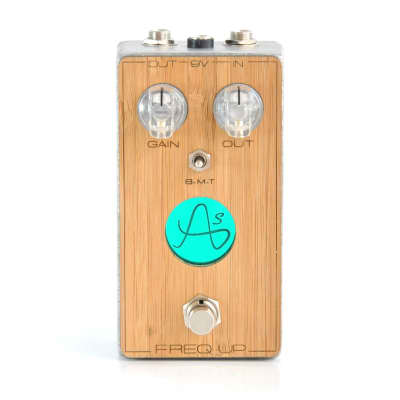 Anasounds Freq Up - Boost+OD+EQ - Handmade in France