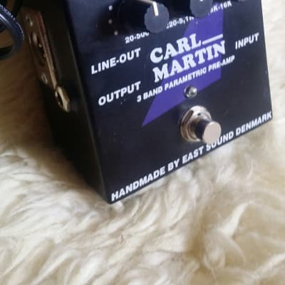 Carl Martin 3 Band Parametric Pre-amp & DI for sale