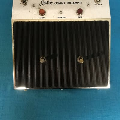 Vintage Leslie Combo Preamp ll Foot pedal / Controller - Tested & Working for sale