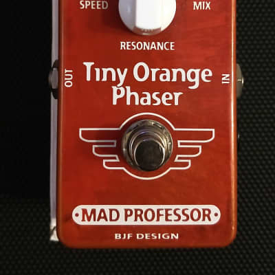 Mad Professor Tiny Orange Phaser Hand-Wired for sale