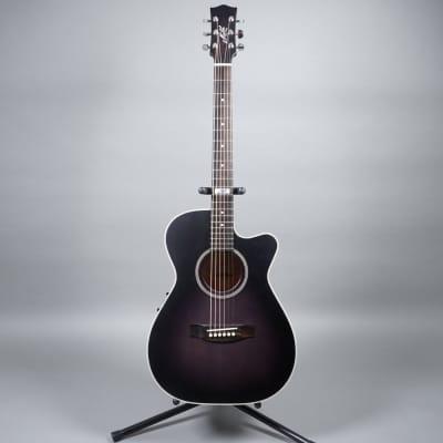 Maton EBG808CGB Acoustic Electric Guitar - Black for sale