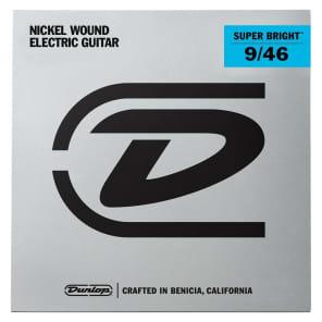 Dunlop DESBN0946 Super Bright Nickel Wound Electric Guitar Strings - Light Top Heavy Bottom (9-46)
