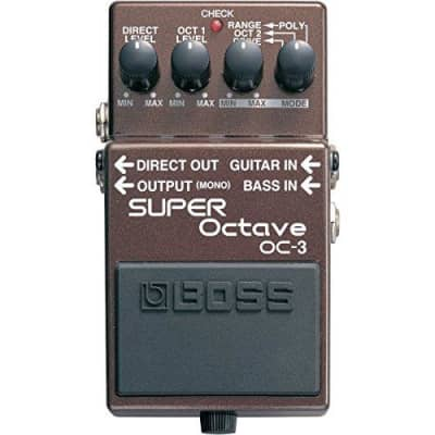 Boss OC-3 Super Octave Guitar Pedal OC3 for sale
