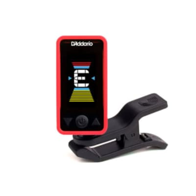 D'Addario Eclipse Tuner  PW-CT-17RD Red