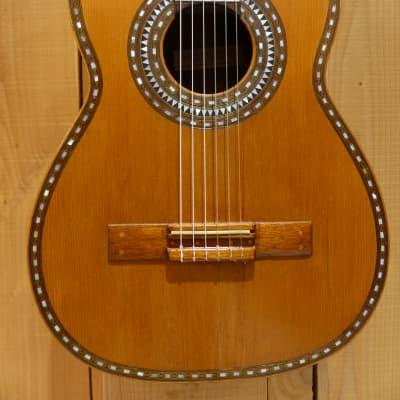 Salvador Ibanez Antique Classical Guitar Circa 1900 for sale