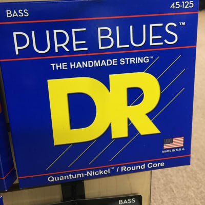 DR PB5-45 Pure Blues 5-String Bass Strings - Medium 45-125