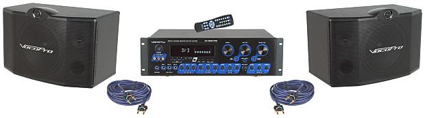vocopro krs 3 digital karaoke receiver mixing amplifier with reverb. Black Bedroom Furniture Sets. Home Design Ideas