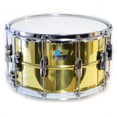 "Ludwig LB488 Super Brass Reissue 8x14"" Snare Drum"