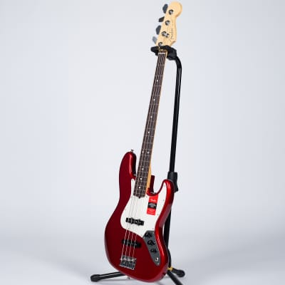 Fender American Professional Jazz Bass - Rosewood, Candy Apple Red for sale