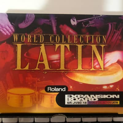 Roland  SR-JV80-18 world Collection Latin