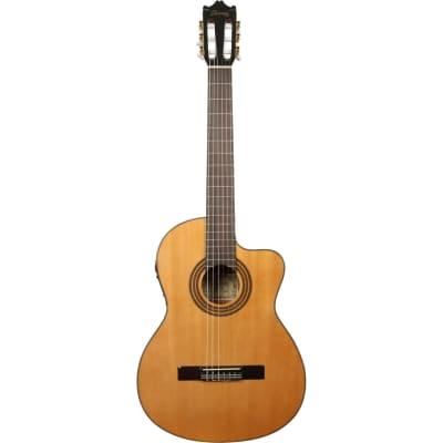 Ibanez GA6CE-AM guitare classique électro-acoustique ambre for sale