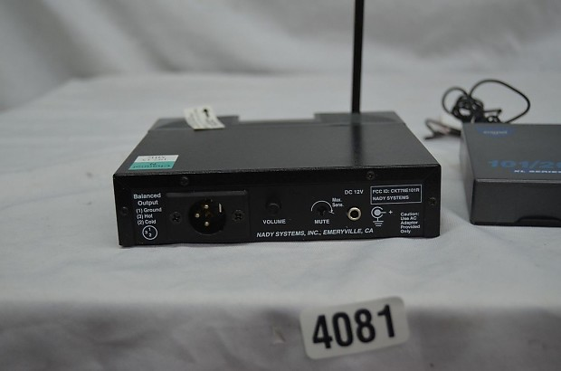 Nady 201 vhf Wireless Manual