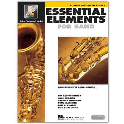 Essential Elements for Band - B-Flat Tenor Saxophone | Book 1 (w/ EEi)