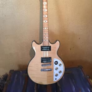 Ibanez 2613 Artist Series Double Cutaway HH with  Maple Fretboard Natural Maple