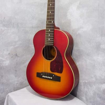 Stafford SLG300 B-25 Style Mini Acoustic Cherry Sunburst c2010 for sale