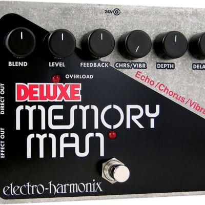 Electro Harmonx Deluxe Memory Man Effect Pedal