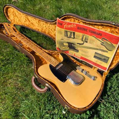 1951-1952  Telecaster Butterscotch Blonde Blackguard
