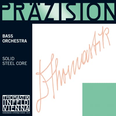 Thomastik-Infeld 1881.4 Precision Chrome Wound Carbon Steel 1/2 Double Bass Orchestra String - D