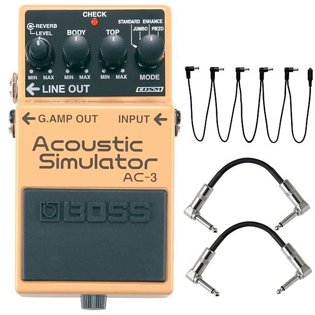 Boss Ac 3 Acoustic Guitar Modeling Effects Pedal Daisy Reverb
