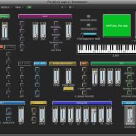Virtual PG-300 editor / programmer Juno-1 / Juno-2 / MKS-50  LOGIC v4 - X