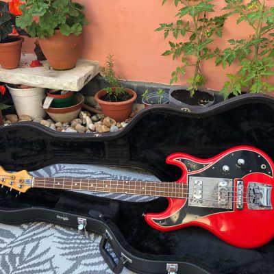 Wilson/Watkins/WEM Bass Guitar (Circa 1968) for sale