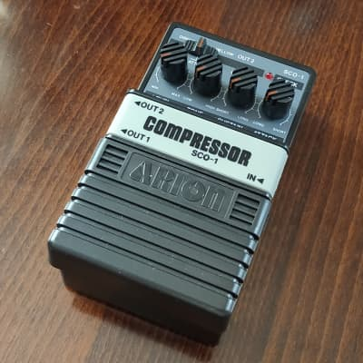ARION SCO-1 Stereo Compressor w/ Box【Designed in Japan】Guitar Effect Pedal