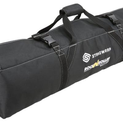 "Rock N Roller Standwrap 4-pocket roll up accessory bag - Small (36"" pocket length)"