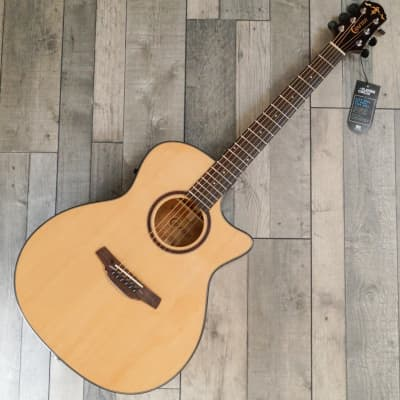 Crafter HG-500CE/N Grand Auditorium Electro Cutaway Acoustic Guitar, Gloss Natural for sale