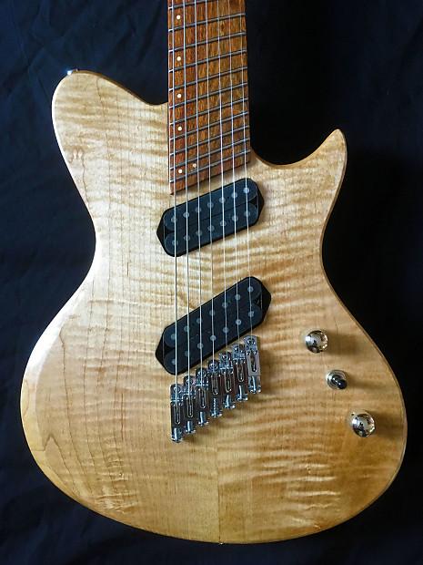 highline guitars osiris deluxe 7 string multiscale electric reverb. Black Bedroom Furniture Sets. Home Design Ideas
