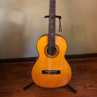Kingston Parlor Classical Guitar Late 1950's - Early 1960's Natural for sale