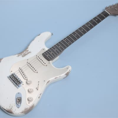 Fender Custom Shop Ltd. '59 Stratocaster Heavy Relic Olympic White