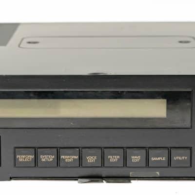 Yamaha TX16W Digital Wave Filtering Sampler Sound Module Rackmount - Vintage