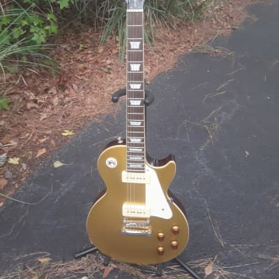 Epiphone 56 Gold Top~2010~Les Paul~P 90's~w/Hard Case~ for sale