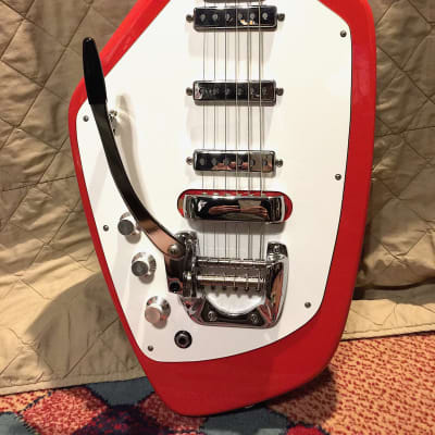 Phantom Guitar Left Handed w/z upgraded PUcovers, switch cap, Free String&Strap for sale